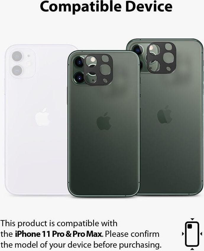 Ringke Camera Styling Bezel Μαύρο για iPhone 11 Pro 3