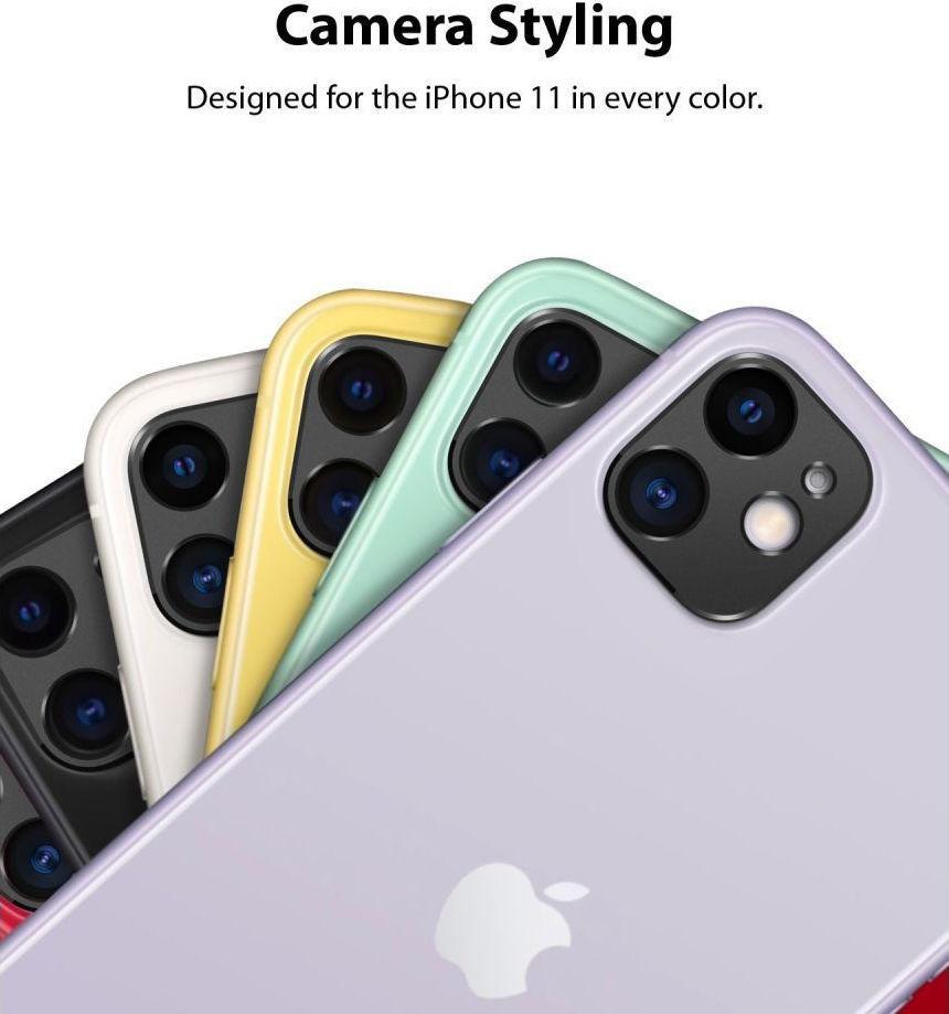 Ringke Camera Styling Bezel Μαύρο για iPhone 11 3