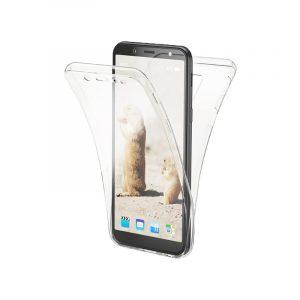 Θήκη 360 Full Cover Σιλικόνης Διάφανο Samsung Galaxy A6 2018