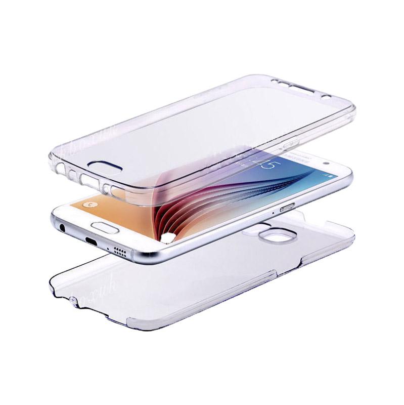 Θήκη 360 Full Cover Σιλικόνης Διάφανο Samsung Galaxy J3 2016