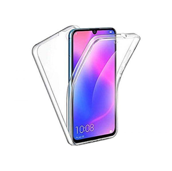 Θήκη 360 Full Cover Σιλικόνης Διάφανο Huawei Y6 2019