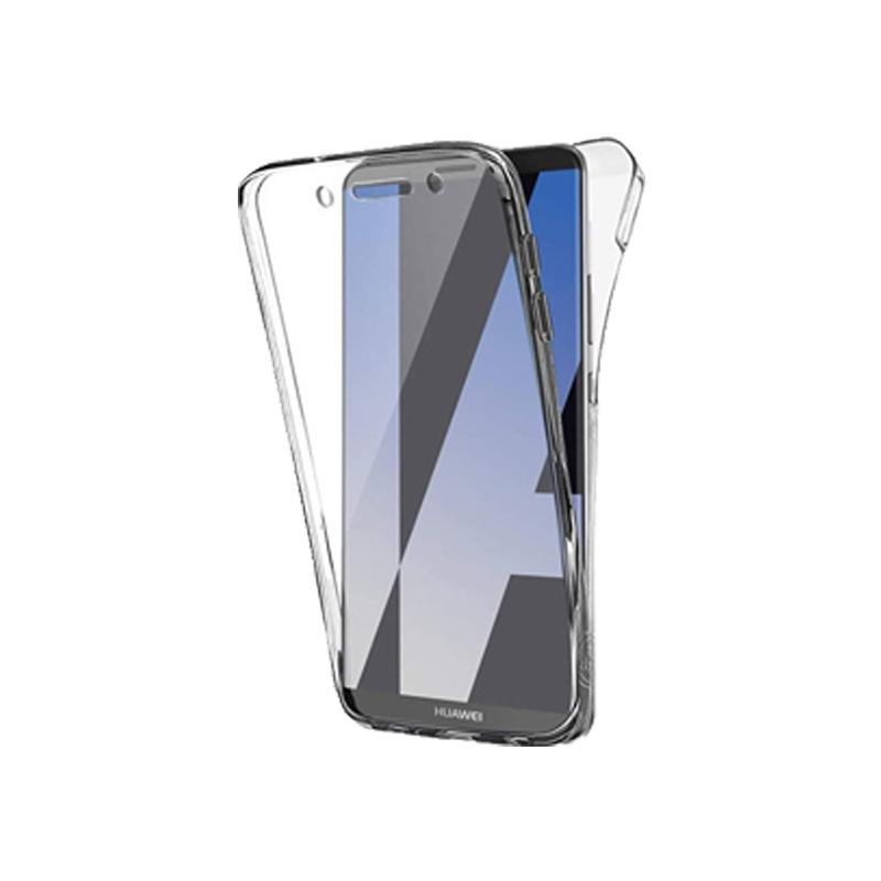 Θήκη 360 Full Cover Σιλικόνης Διάφανο Huawei Mate 10 Pro