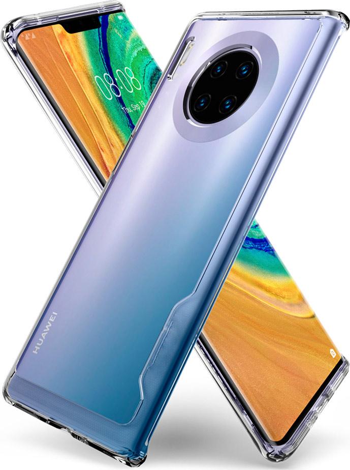 Θήκη 360 Full Cover Σιλικόνης Διάφανο Huawei Mate 30 Pro 1