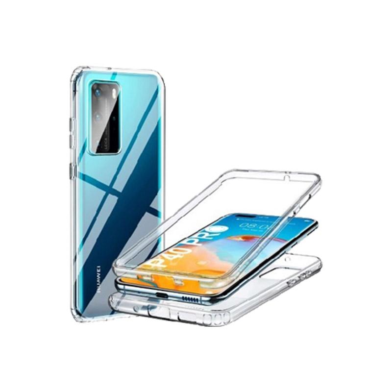Θήκη 360 Full Cover Σιλικόνης Διάφανο Huawei P40 Pro