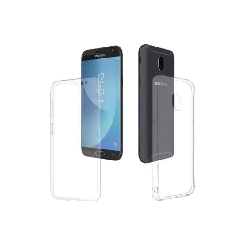 Θήκη 360 Full Cover Σιλικόνης Διάφανο Samsung Galaxy J3 2017