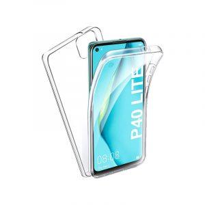 Θήκη 360 Full Cover Σιλικόνης Διάφανο Huawei P40 Lite
