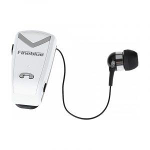 Ασύρματα Bluetooth Ακουστικά Fineblue F-V2 άσπρο