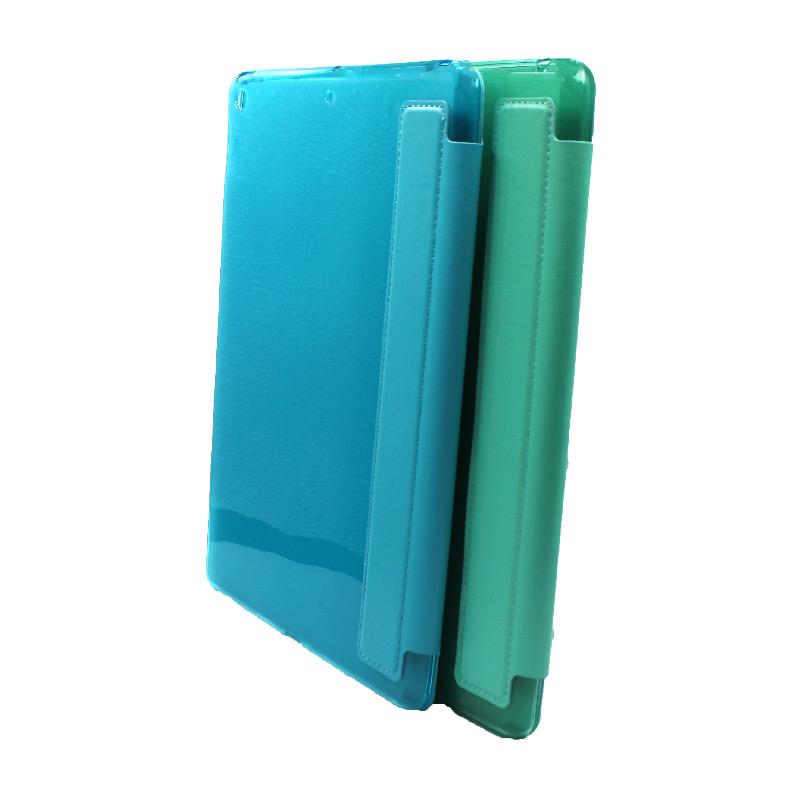 θήκη tablet ipad 2019 10.2'' γαλαζιο και πράσινο 1