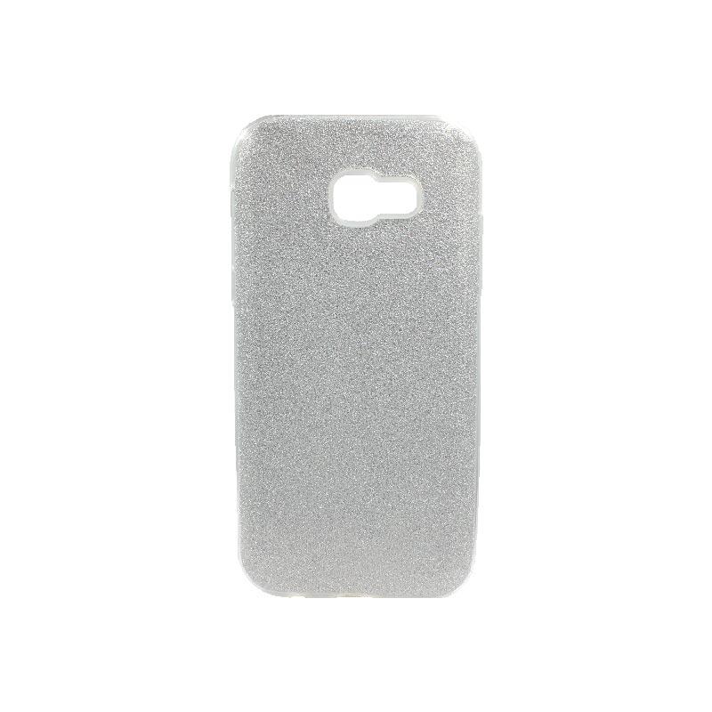 Θήκη Samsung Galaxy A5 2017 Glitter Ασημί