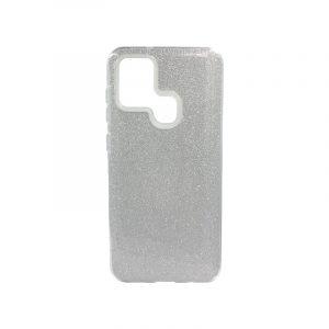 Θήκη Samsung Galaxy A21s Glitter Ασημί