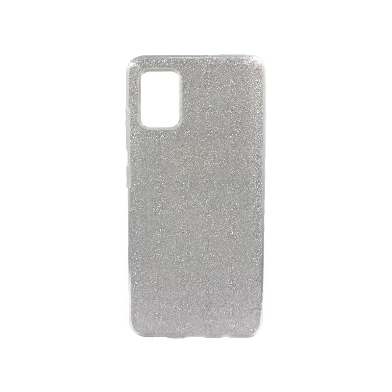 Θήκη Samsung Galaxy A51 Glitter Ασημί