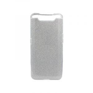 Θήκη Samsung Galaxy A80 Glitter Ασημί
