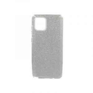 Θήκη Samsung Galaxy A81 / Note 10 Lite Glitter Ασημί