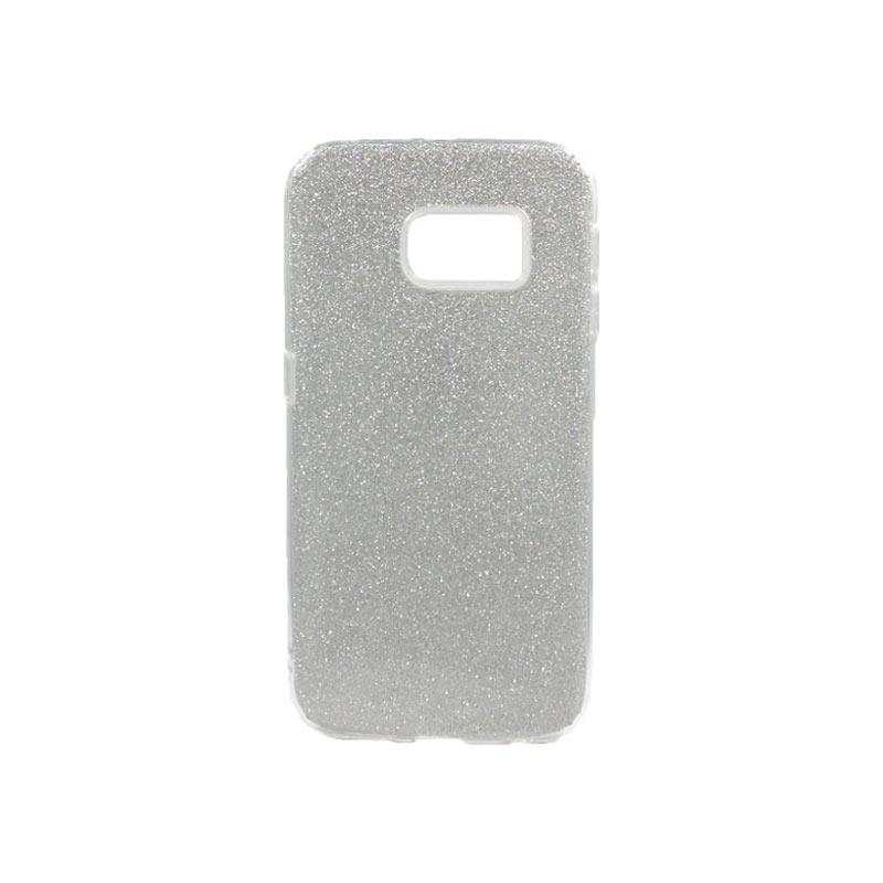 Θήκη Samsung Galaxy S6 Edge Glitter Ασημί