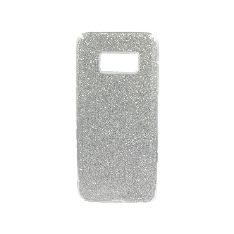 Θήκη Samsung Galaxy S8 Glitter Ασημί