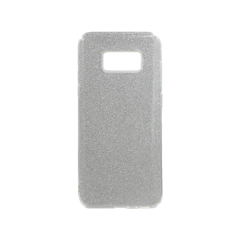 Θήκη Samsung Galaxy S8 Plus Glitter Ασημί