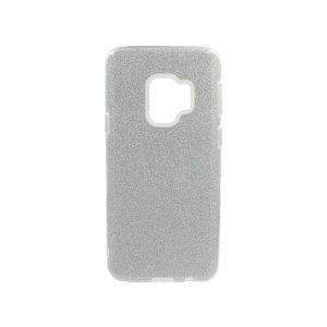 Θήκη Samsung Galaxy S9 Glitter Ασημί