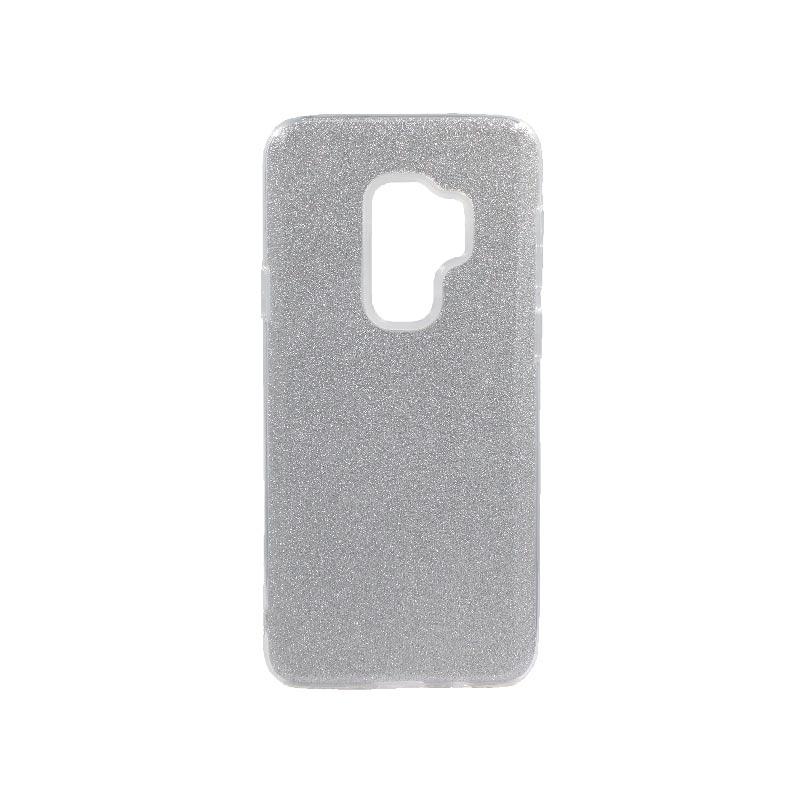 Θήκη Samsung Galaxy S9 Plus Glitter Ασημί