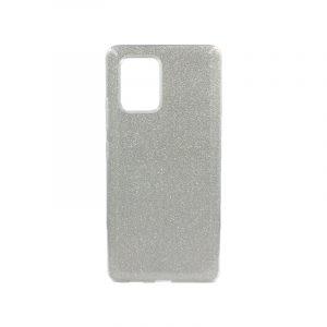 Θήκη Samsung Galaxy S10 Lite 2020 Glitter Ασημί