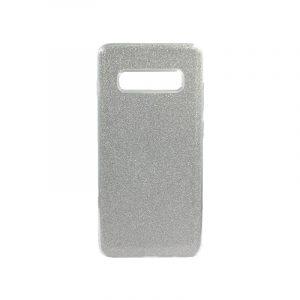 Θήκη Samsung Galaxy S10 Plus Glitter Ασημί