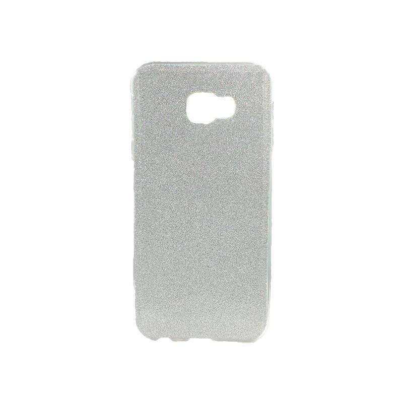 Θήκη Samsung Galaxy J4 Plus Glitter Ασημί