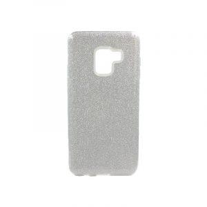 Θήκη Samsung Galaxy A5 / A8 2018 Glitter Ασημί