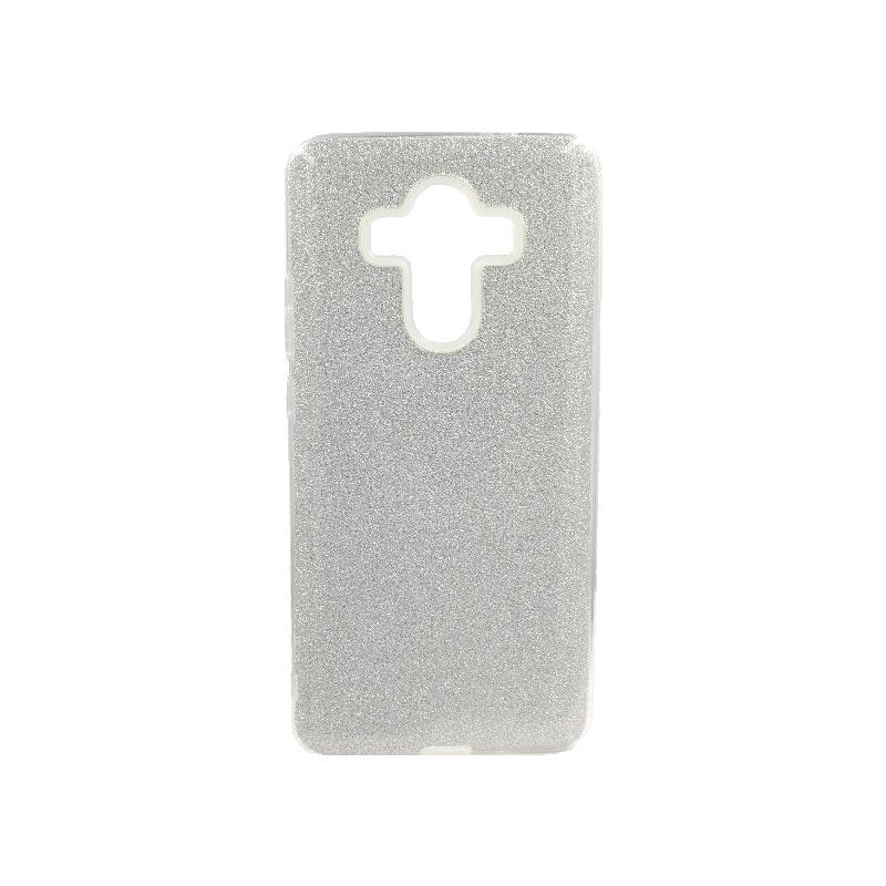 Θήκη Huawei Mate 10 Pro Glitter Ασημί