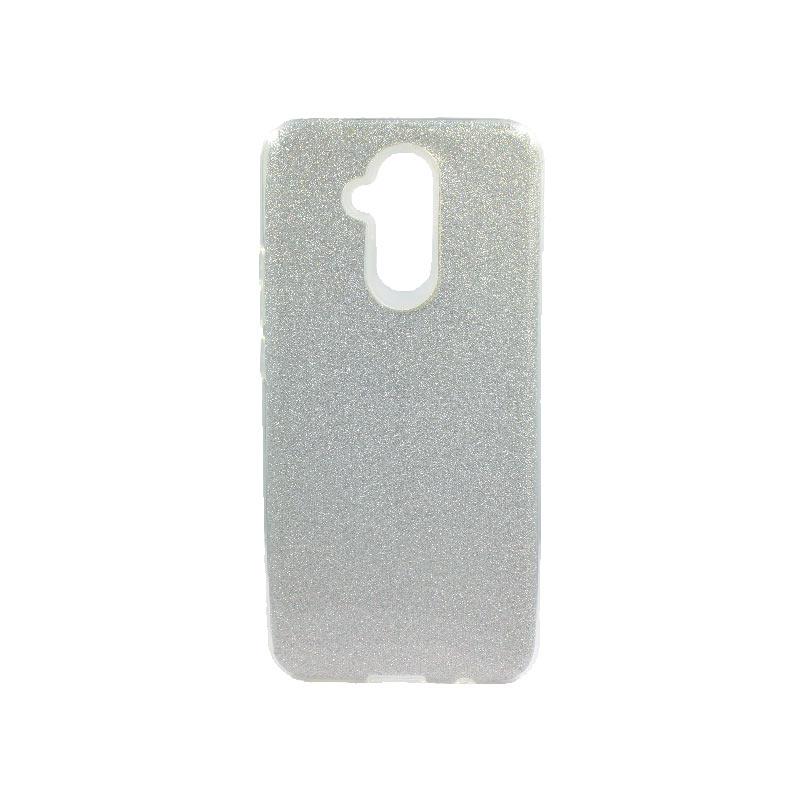 Θήκη Huawei Mate 20 Lite Glitter Ασημί