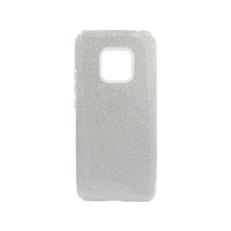Θήκη Huawei Mate 20 Pro Glitter Ασημί