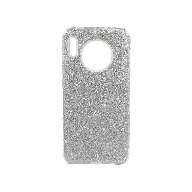 Θήκη Huawei Mate 30 Glitter Ασημί