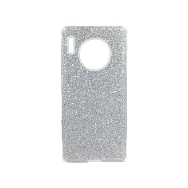 Θήκη Huawei Mate 30 Pro Glitter Ασημί