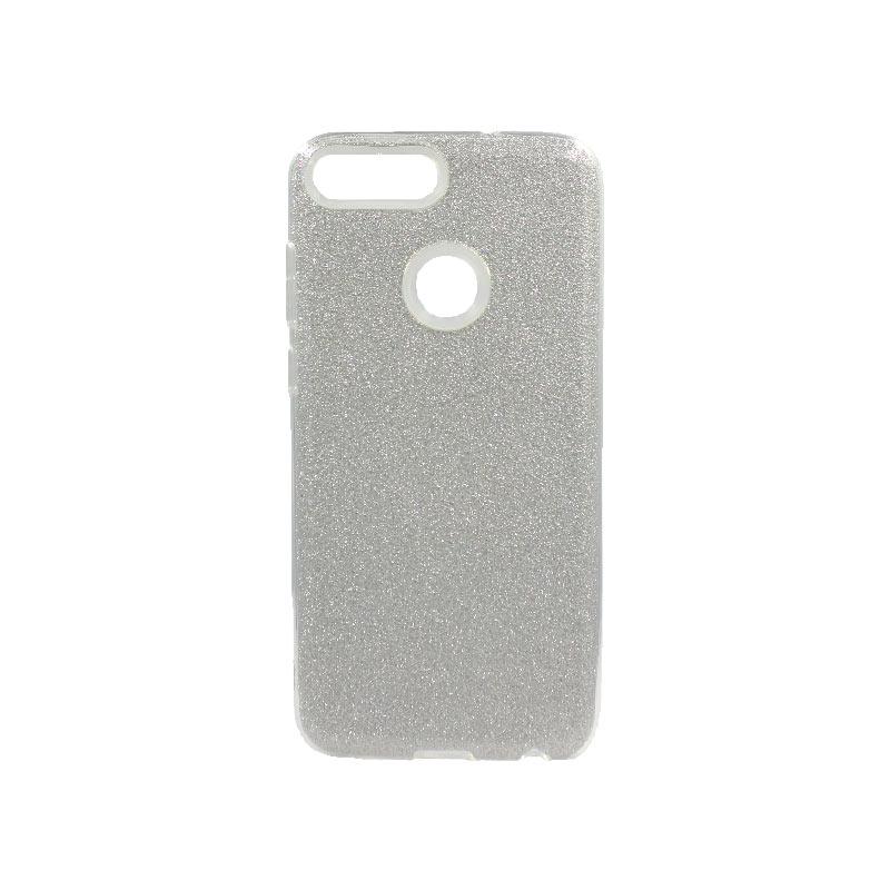 Θήκη Huawei P Smart Glitter Ασημί