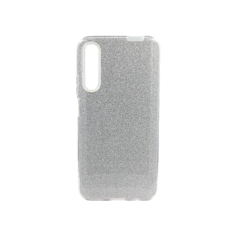 Θήκη Huawei P Smart Pro Glitter Ασημί