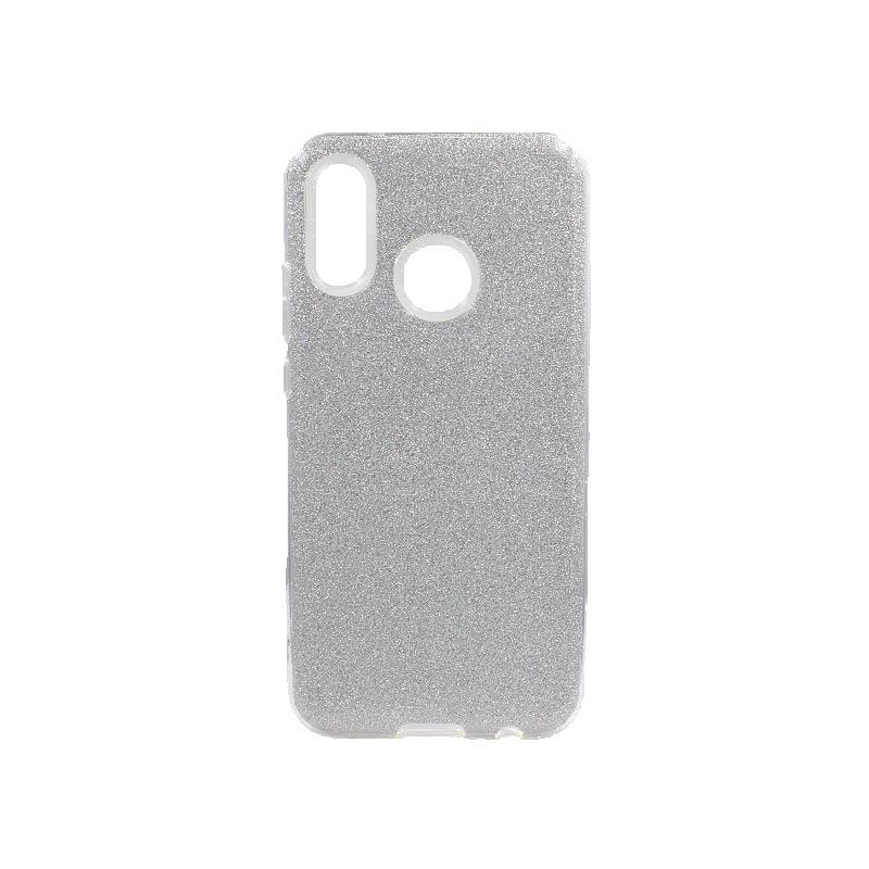 Θήκη Huawei P20 Lite Glitter Ασημί