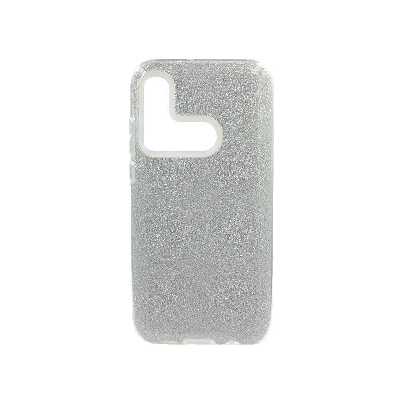 Θήκη Huawei P20 Lite 2019 Glitter Ασημί