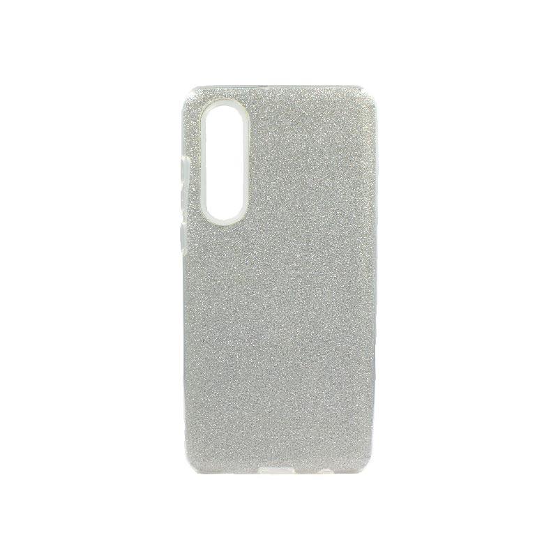 Θήκη Huawei P30 Glitter Ασημί