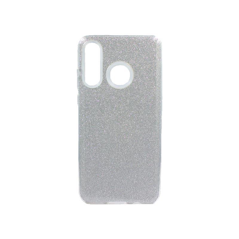 Θήκη Huawei P30 Lite Glitter Ασημί