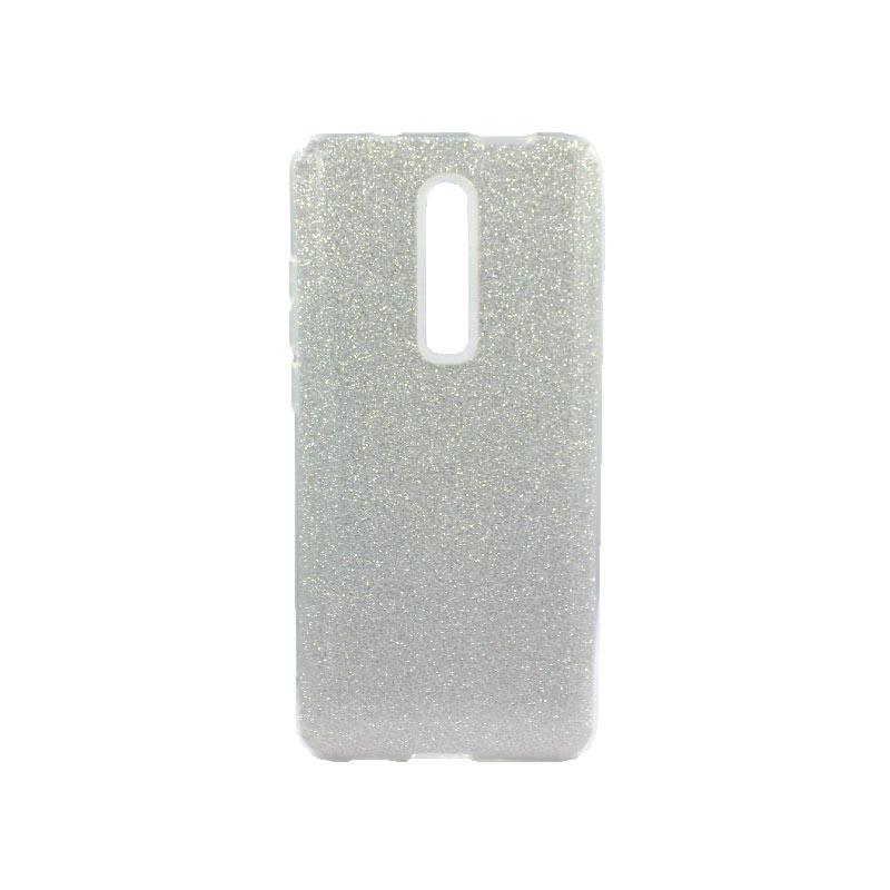 Θήκη Xiaomi Mi 9T / K20 / K20 Pro Glitter Ασημί