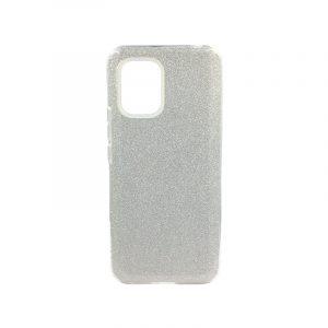 Θήκη Xiaomi Mi 10 Lite Glitter Ασημί