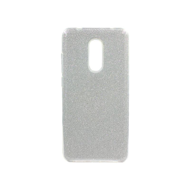 Θήκη Xiaomi Redmi 5 Glitter Ασημί