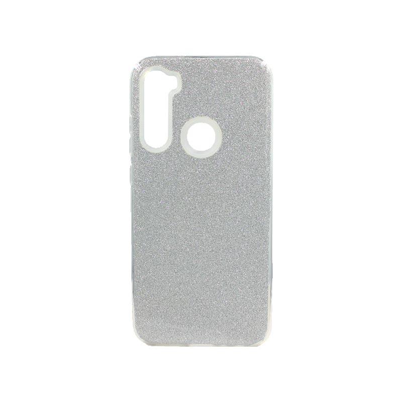 Θήκη Xiaomi Redmi Note 8T Glitter ασημί