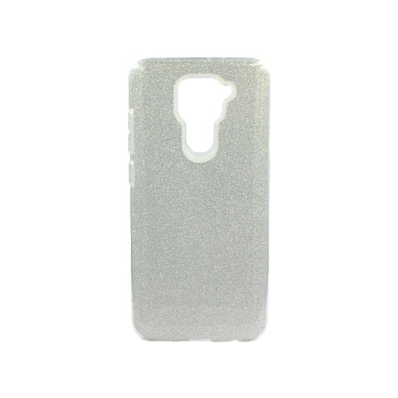 Θήκη Xiaomi Redmi Note 9 Glitter Ασημί