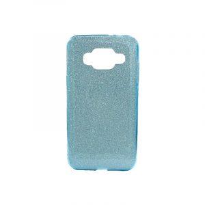 Θήκη Samsung Galaxy J3 2016 Glitter Γαλάζιο