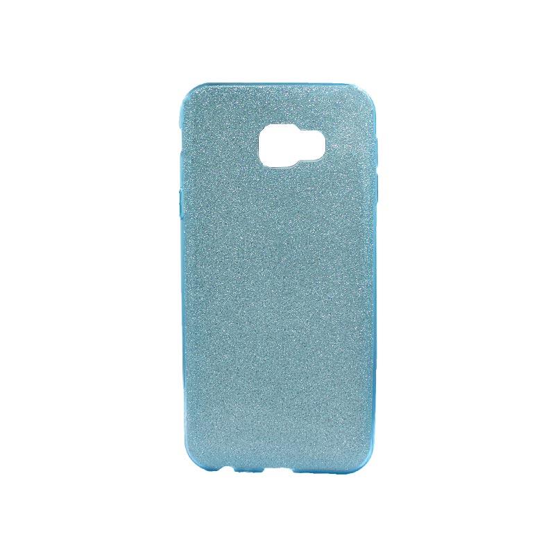Θήκη Samsung Galaxy J4 Plus Glitter Γαλάζιο
