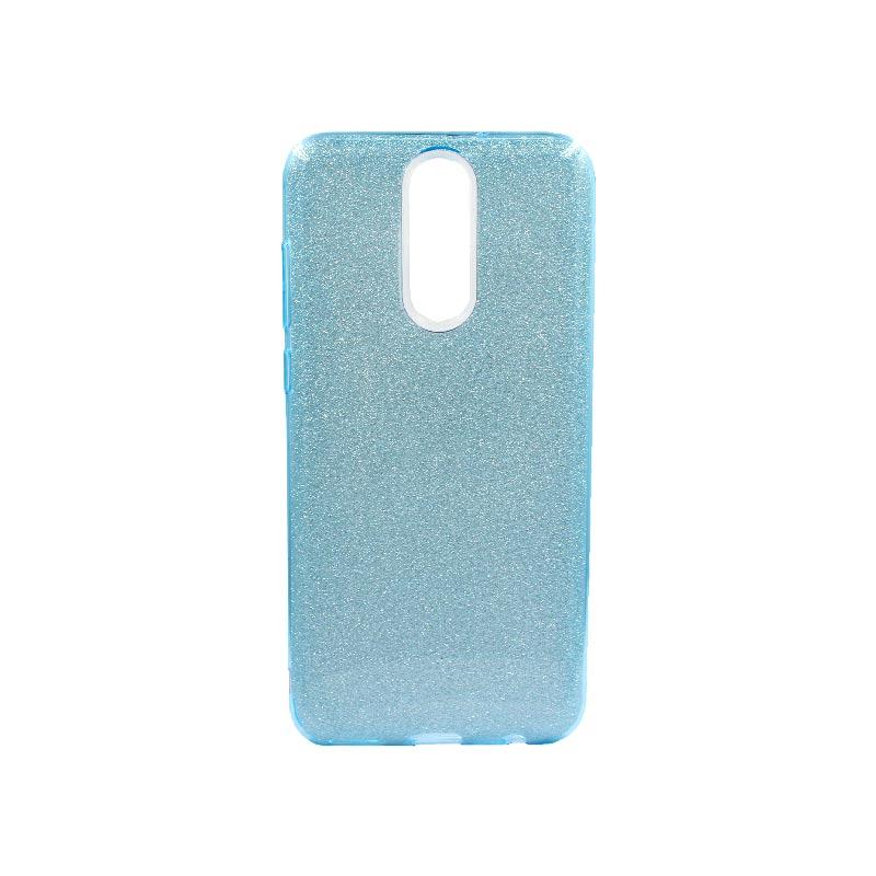 Θήκη Huawei Mate 10 Lite Glitter Γαλάζιο