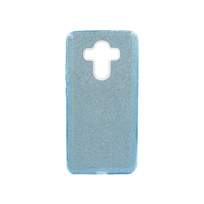Θήκη Huawei Mate 10 Pro Glitter Γαλάζιο