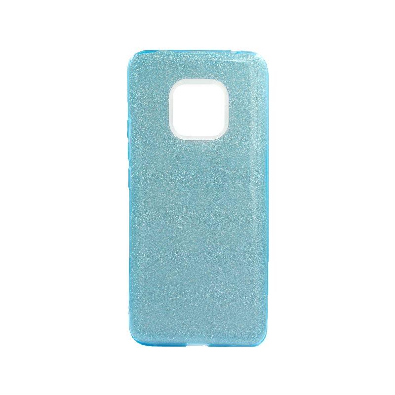 Θήκη Huawei Mate 20 Pro Glitter Γαλάζιο