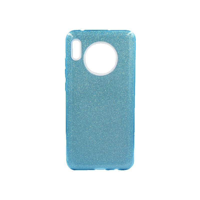 Θήκη Huawei Mate 30 Glitter Γαλάζιο