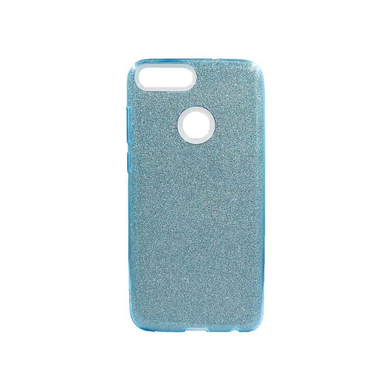 Θήκη Huawei P Smart Glitter Γαλάζιο