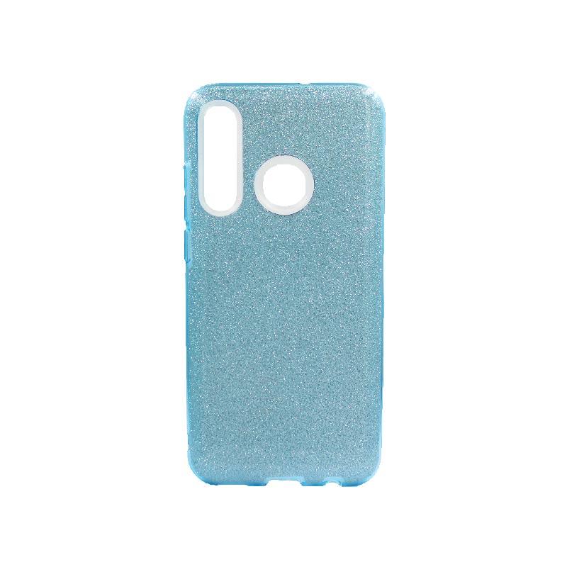 Θήκη Huawei P Smart 2019 Glitter Γαλάζιο